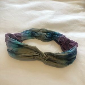 Accessories - Tie Dye knot headband